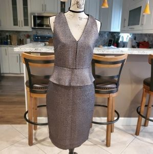 Metallic Silver two piece outfit